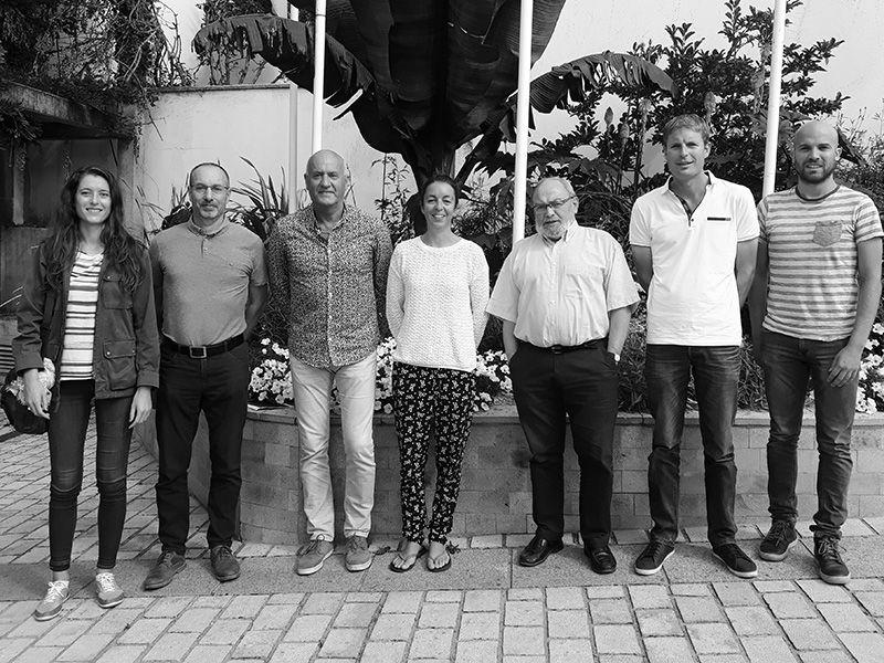 Le club de badminton rencontre le Maire de Guidel et son adjoint au sport